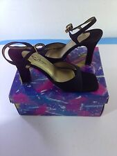 NIB Chinese Laundry Kaye Supreme 6.5M  Strap Open Toe Heels Shoes NEW
