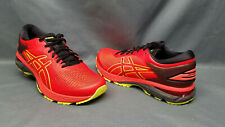 Asics Men's Gel-Kayano 25 Running Sneakers Cherry Tomato Yellow Size 8 NEW!