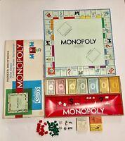 Vintage Parker Brothers 1961 MONOPOLY Board Game #9