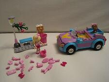 Lego Friends 3183 Stephanie's Cabrio mit Figur, Hund, Waschanlage, Bank, Laterne