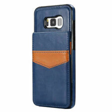 Samsung Galaxy S6 S7 S8 S9 S10 S10+ e Leather Card Wallet Stand Back Cover Case