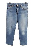 Vintage Wrangler Texas High Waist Unisex Denim Jeans  W31 L34.5 Mid Blue - J4583
