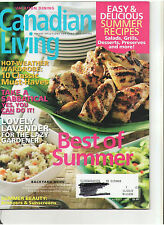 CANADIAN LIVING AUG 2008 BEST OF SUMMER RECIPES SABBATICAL SUMMER BEAUTY OOP