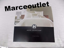 Hotel Collection Woven Texture KING Comforter White