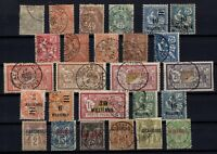 G137797/ ALEXANDRIA – YEARS 1899 - 1925 USED CLASSIC LOT – CV 130 $