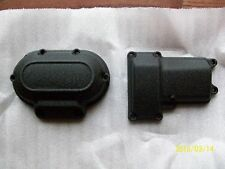 Harley transmission cover-6 speed-wrinkle black-2007-2017 twin cam-NO 14-17 TOUR