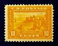 Scott US #400 - 1913 Commemorative, 10 Cents; Mint Hinged; OG; CV=$110