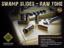 The Swamp Slide Pro Guitar Slide Aged Chrome Nickel Size M Medium by Rockslide