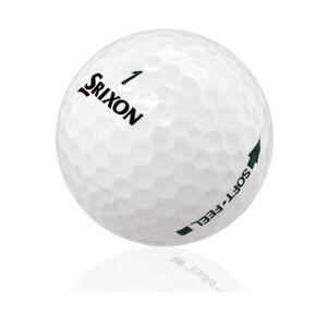 120 Srixon Soft Feel Mint Used Golf Balls AAAAA *Free Shipping!*