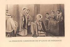 "OLD nice french rare Holy cards from 1920""H5703"" la premiere communion de  Louis"