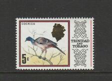 Trinidad & Tobago 1972/4 Bird Defs, Change of Wmk 5c UM/MNH SG 429