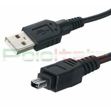Cavo 3m USB 2.0 a FIREWIRE 4 pin IEEE 1394 adattatore dati foto video pc mini dv