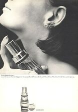 1964 Guerlain Chant D'Aromes Perfume VIntage Bottle PRINT AD