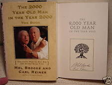 2000 Year Old Man in the Year 2000-Carl Reiner (MEL BROOKS) SIGNED