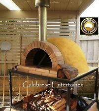 Pizza oven dome outdoor woodfired wood fired DIY kit + UNCASTED  - commercial