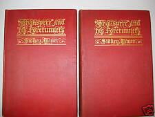 SHAKSPERE & HIS FORERUNNERS VOL 1+2 1902 HB S LANIER