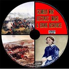 450+ HISTORIC CRIMEAN WAR IMAGES & 50+ GREAT PDF BOOKS PCDVD-ROM NEW EDUCATIONAL