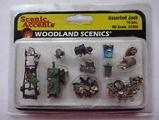Woodland Scenics Ho #1852 - Assorted Junk