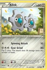 POKEMON B&W EMERGING POWERS - KLINK 74/98