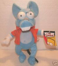 Itchy Plush! Simpsons Movie! New!