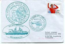 1993 Polarstern Water Polynya Helicopter Bremerhaven PAQUEBOT Polar Arctic Cover