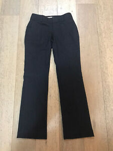 Banana Republic Womens Formal Suit Pants Grey Petite Size 00