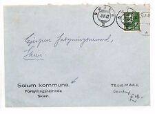 BF179 1942 WW2 NORWAY Skien Telemark County Cover