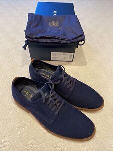 Cole Haan Men's Feathercraft Grand Oxford Marine Blue Style C29716 9.5 M
