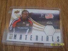 2010 SHALRIE JOSEPH UPPER DECK MLS MATERIALS CARD   #M-SJ
