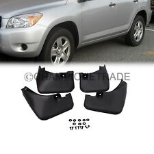 US Black Mud Flaps Splash Guard Fender Front + Rear For 06-12 Toyota RAV4 XA30