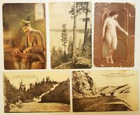 Antique Vintage Mixed Lot of Postcards  From The Early 20th Century