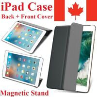 Magnetic Stand Leather Lightweight Hard Back Cover Case For Apple iPad