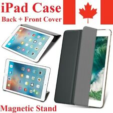 Magnetic Stand iPad Case  - Leather Lightweight Hard Back Folio Cover Case