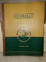 GMC DELCO REMY DIVISION ELECTRICAL EQUIPMENT DR-324 MANUAL 1950 VINTAGE (B1)