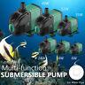 220V Submersible Water Pump Fish Pond Aquarium Tank Adjustable Water Flow Rate