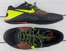 Nike Mens Metcon 3 Shoes Black/Hyper Crimson/Hot Punch/Volt 852928-012 Size 8.5