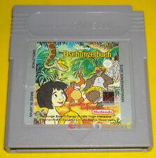 THE JUNGLE BOOK Game Boy Gameboy Gb Versione Tedesca »»»»» SOLO CARTUCCIA
