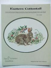"""Eastern Cottontail"" Cross-Stitch Design by Tice-Bohanan Creations & Judy Mizel"