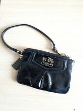 coach leather zipped purse wallet