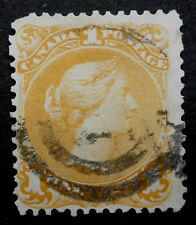 CANADA  #23 LARGE QUEEN FINE-VERY FINE USED ($175)