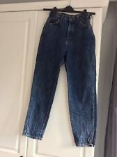 Ladies lee jeans Blue Denim Petite Size 6