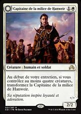 MRM FRENCH  Capitaine de la Milice de Hanweir MTG magic SOI