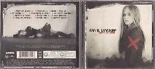 CD 12T AVRIL LAVIGNE UNDER MY SKIN DE 2004 INCLUS POSTER
