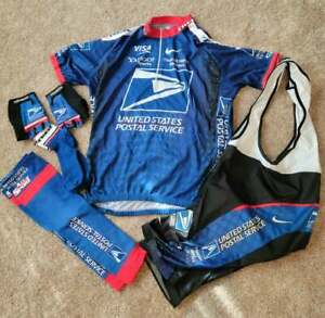 NIKE US POSTAL SERVICE cycling kit - Excellent condition. RARE! 6 XXL