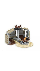 Lego Star Wars Mandalorian TUSKEN RAIDER HUT & CAMPFIRE from set 75299