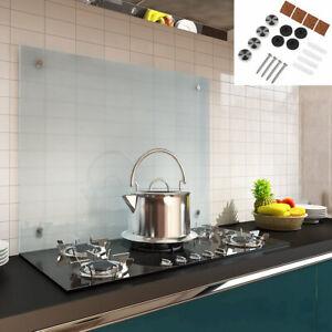 """90x50 Herd Spüle Spritz Schutz Platte Küchen Rückwand /""""Red Splash/"""" aus Glas rot"""