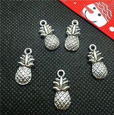 Vintage 10pcs Tibet silver pineapple Pendant beaded Jewelry Findings Charm DIY