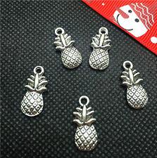 Vintage 10pcs Tibet silver pineapple Pendant beaded Jewelry Findings Charm DIY