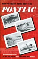 PONTIAC 1946 OWNERS MANUAL OWNER'S BOOK