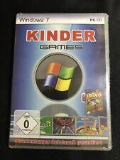 Windows 7 Games Kinder PC Win XP/Vista/7 Neu & Originalverpackt in Folie #965